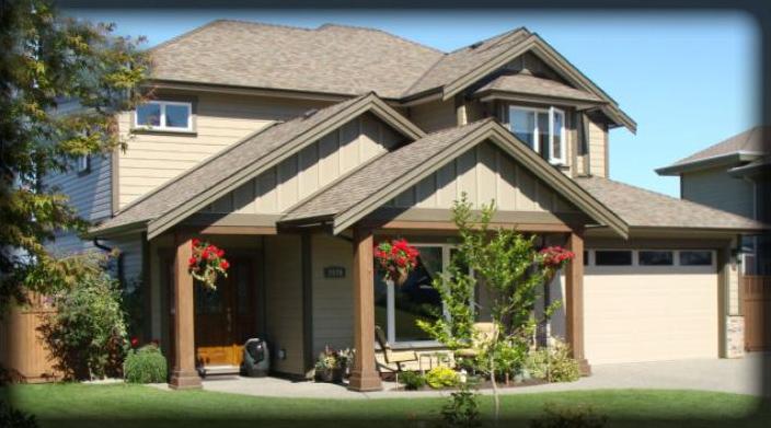 2600 sqft Two storey custom home