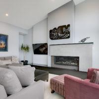 contemporary custom built home